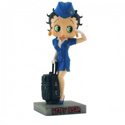 Figurine Betty Boop Hôtesse de l'air - Collection N°9