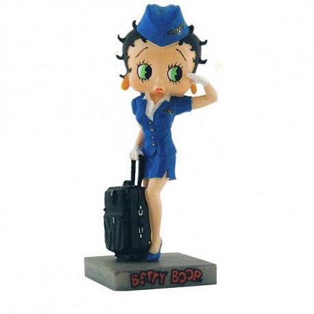 Figura a Betty Boop azafata - colección N ° 9