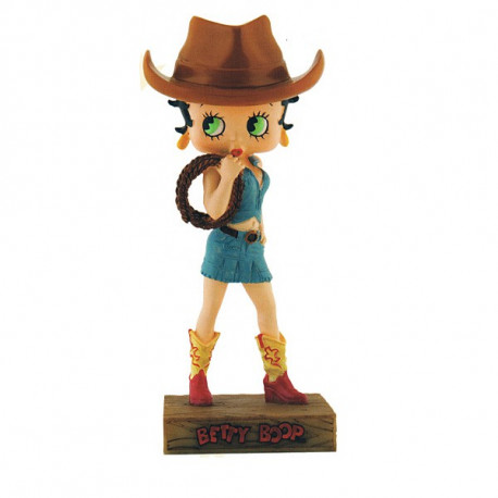 Figurine Betty Boop Cow-girl - Collection N°8