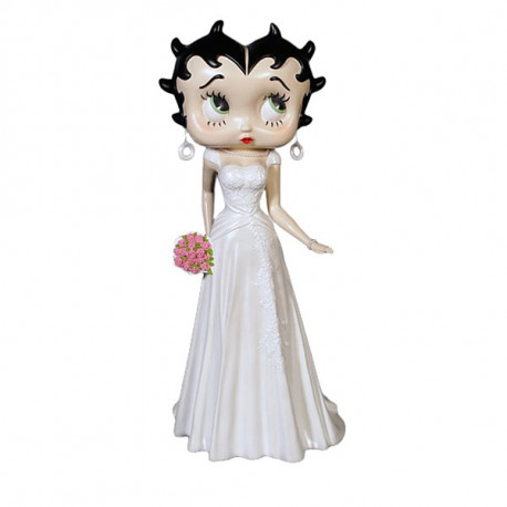 Statuette Betty Boop 92 CM wedding dress