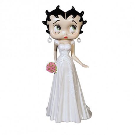 Statuette Betty Boop Robe de mariée 92 CM