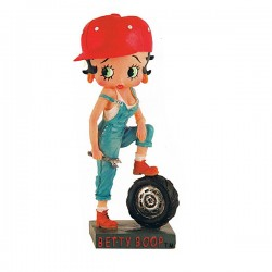 Figurine Betty Boop Garagiste - Collection N°5