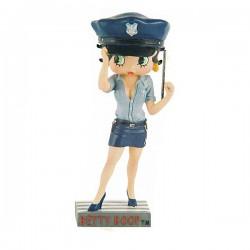 Figura Betty Boop policía - colección N ° 3