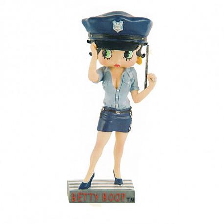 Figura agente di polizia di Betty Boop - collezione N ° 3