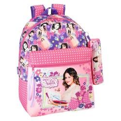 Violetta Flowers 43 CM top of range + Kit backpack