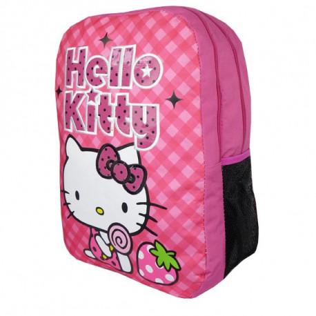 Sac à dos Hello Kitty 42 CM Fraise