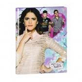 Elastic folder A4 Violetta Butterflies