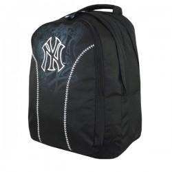 Mochila escolar New York Yankees negro 45 CM