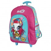 Cartable à roulettes Poppixie Winx Club 40 CM Trolley Amore