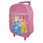 Sac à roulettes maternelle Princesse Disney 32 CM