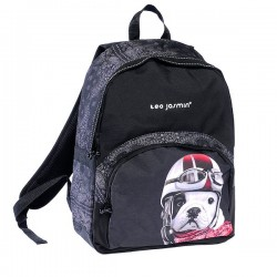 Backpack terminal Teo Jasmin Black 44 CM