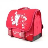 Cartable Hello Kitty Rouge Haut de Gamme 38 CM