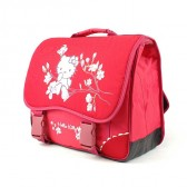 School bag Hello Kitty red high-end 38 CM