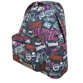 Mochila escolar Diesel Music 43 CM