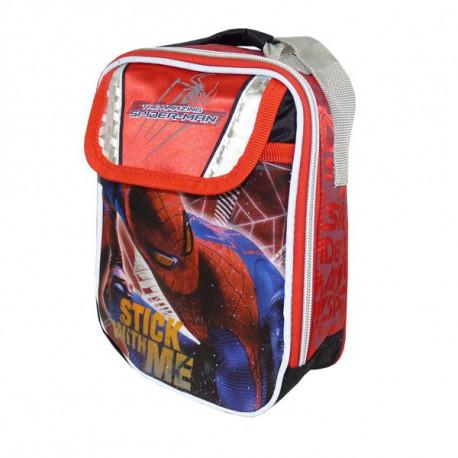 Sac gouter isotherme Spiderman The Amazing 22 CM - sac déjeuner