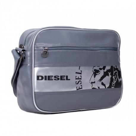 Sac reporter Diesel Anthracite Legend 37 CM Haut de gamme