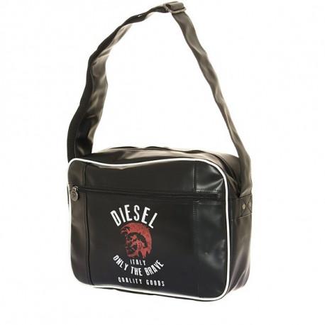 Ver bolso Diesel negro sólo el valiente 37 CM de alto