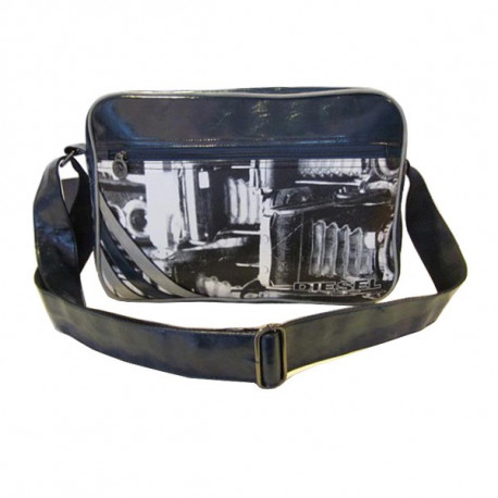 Bag see Diesel blue 37 CM high
