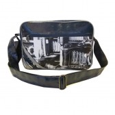 Tasche siehe Diesel blau 37 CM hoch