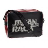 Bag reporter bag Japan Rags black and Red 39 CM
