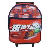Sac à roulettes maternelle Cars Racing 32 CM