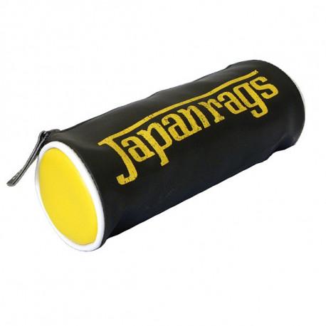Trousse Japan Rags Noire & Jaune 22 CM