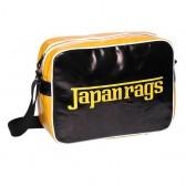 Borsa reporter bag nero Giappone stracci e giallo 39 CM