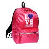 Sac à dos Love Pink Rose 43 CM 2 Cpt
