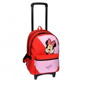 Rolling Backpack Minnie Red Classic 44 CM - Trolley
