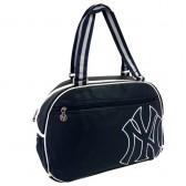 Bolsa de hombro de cuero Nueva York Yankees Marina 42 CM estilo