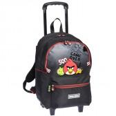 Sac à roulettes Angry Birds 43 CM Haut de gamme - cartable
