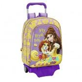 Cartable à roulettes Princesse Belle 42 CM Haut de Gamme Trolley - Palace Pets