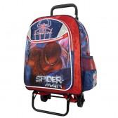 Cartable à roulettes Spiderman 41 CM Haut de Gamme The Amazing
