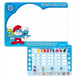 Table slate Smurfs