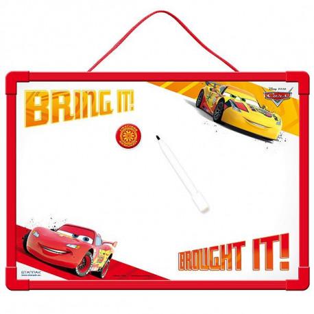 Tabla pizarra magnéticos coches