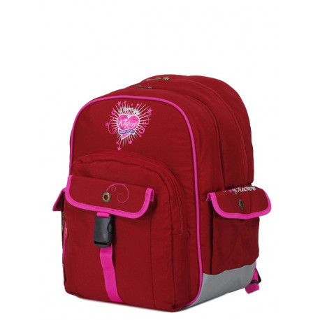 Rucksack Kickers rotes Mädchen Doppel cpt 41 CM