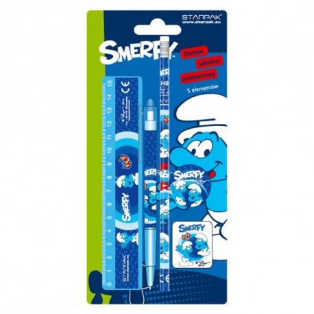 School set Smurfs