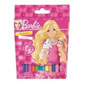 12 kleuren Barbie vilt