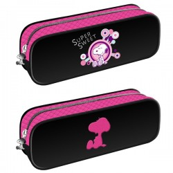 """Trousse rectangulaire Snoopy  cm """"Super Sweet"""""""