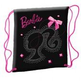 Zwarte en roze zwembad Barbie tas
