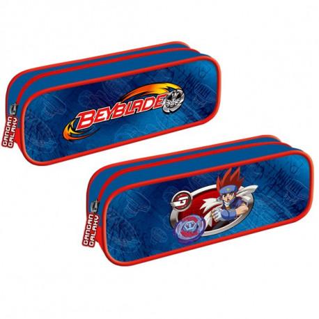 Rechthoekige pakket Beyblade blue en Red 22 cm
