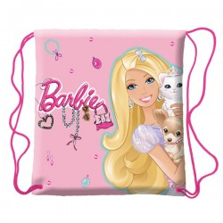 Bolsa de piscina Barbie rosa
