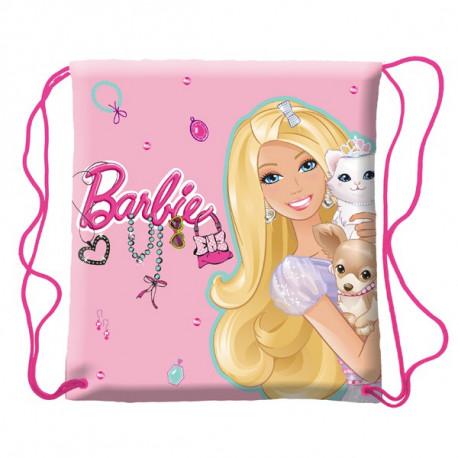 Sac piscine Barbie rose