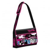 Sac bandoulière Monster High 38 cm