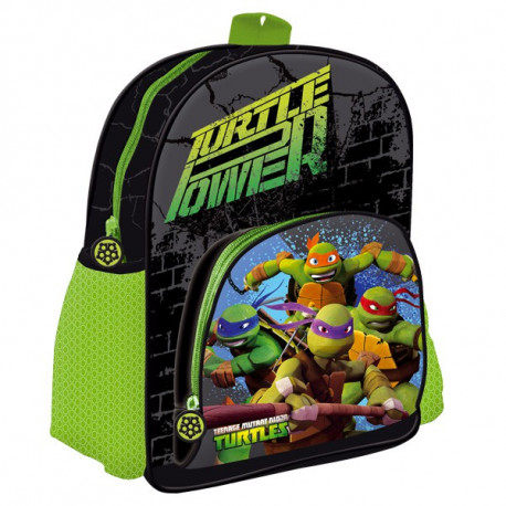sac dos tortue ninja 31 cm - Cartable Tortue Ninja