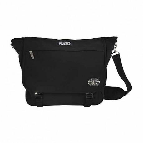 Grand sac besace noir Star Wars 40cm