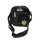 Sac besace noir Star Wars 20 cm