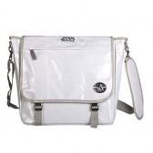 Grand sac besace blanc Star Wars 40 CM