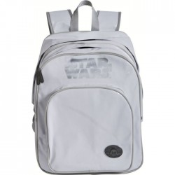 White 2-compartment Star Wars 42 CM backpack