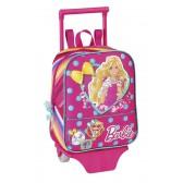 Sac à roulettes Barbie 27 CM maternelle Haut de Gamme - Cartable